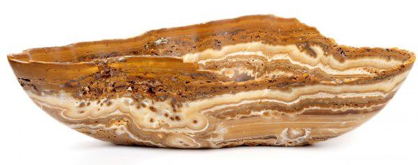 Brown Rustic Onyx Bowl