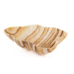 Brown Striped Onyx Bowl