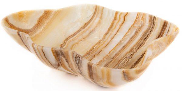 Brown Striped Onyx Bowl