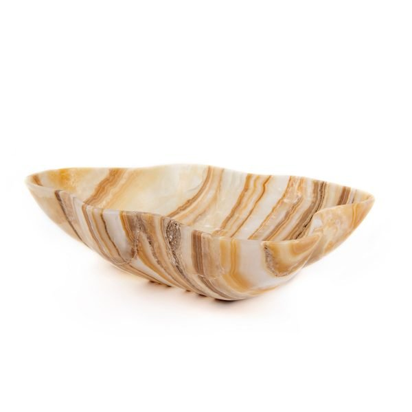 Brown Striped Onyx Bowl i