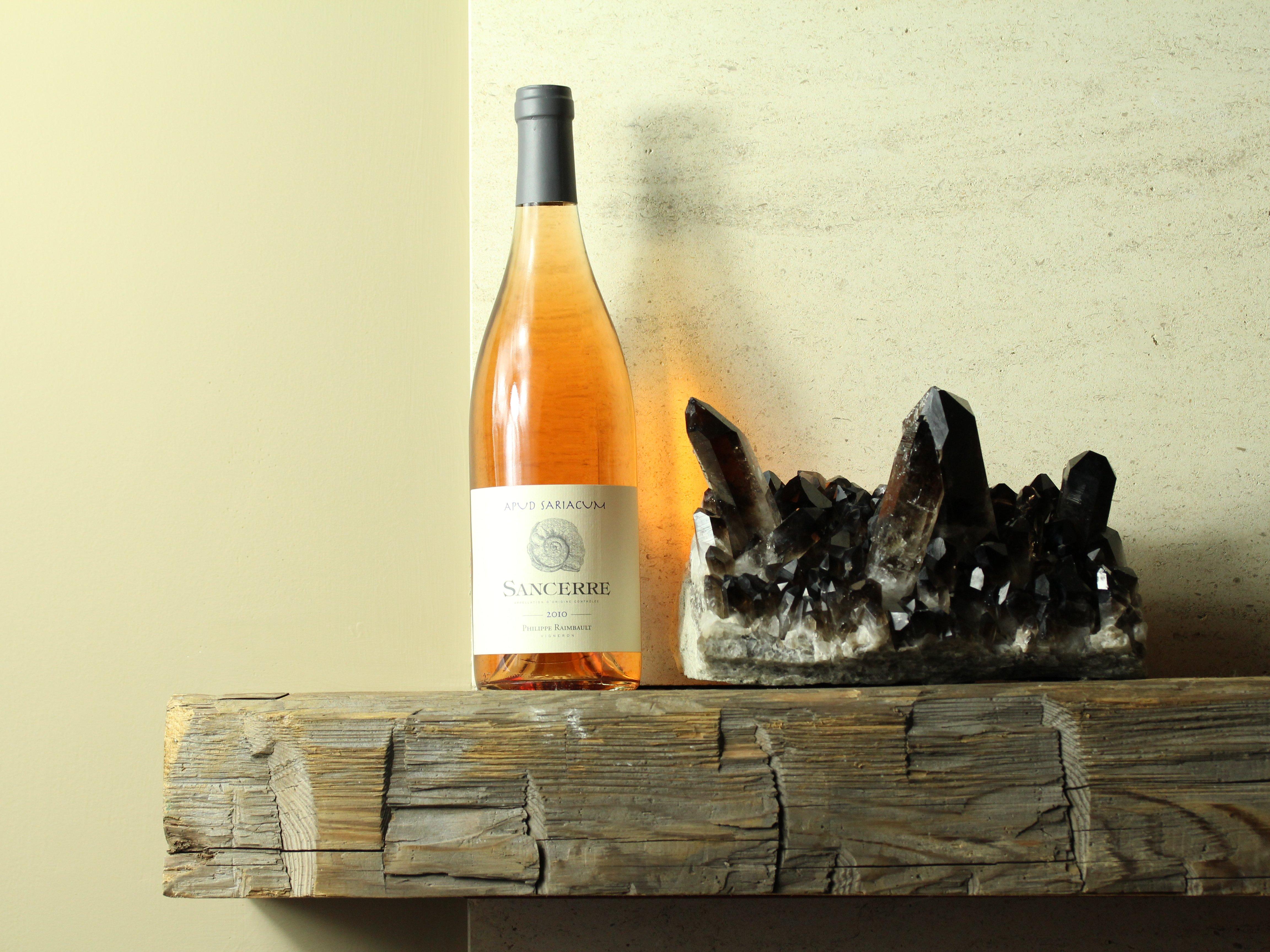 Wine on the shelf