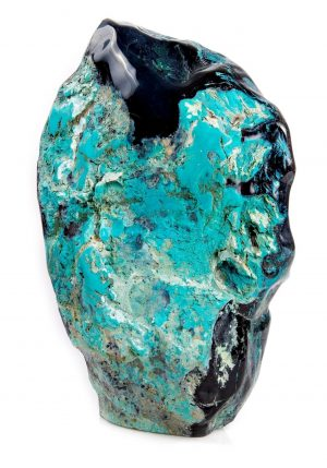 Petrified Wood & Chrysocolla