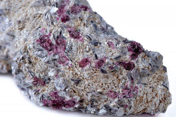 Pink Tourmaline and Muscovite