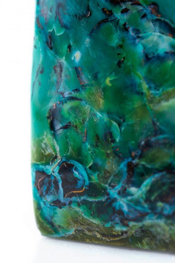 blue opal petrified wood