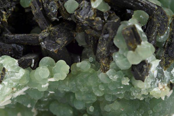 phrenite and epidote