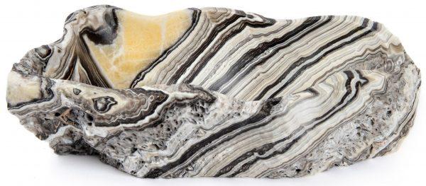 Tiger Stripe Natural Onyx Bowl