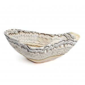 Tiger Stripe Onyx Bowl