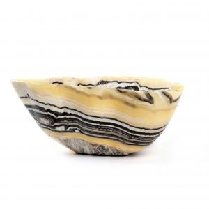 Tiger Striped Onyx Bowl