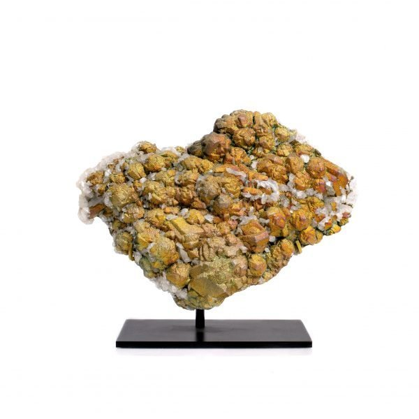chalcopyrite on calcite