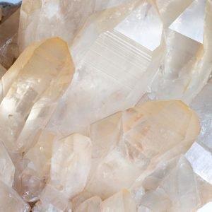 golden quartz cluster