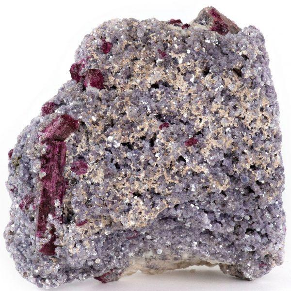 pink tourmaline and lepidolite
