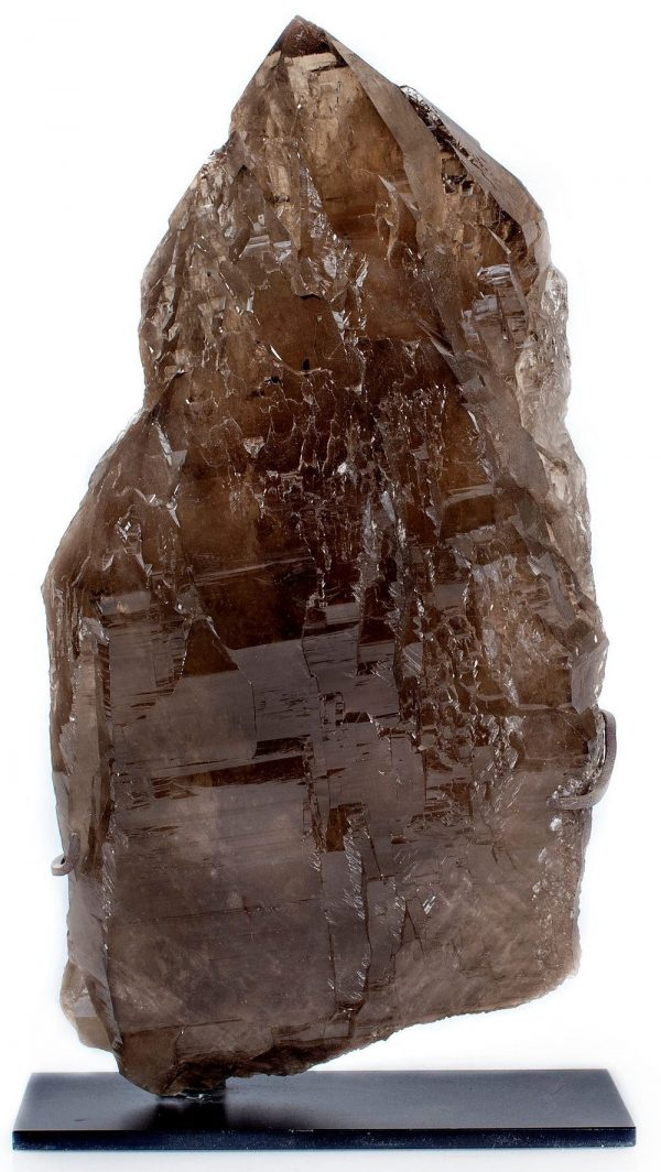 smoky elestial quartz