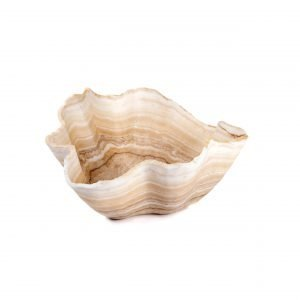 Tan Rustic Onyx Bowl