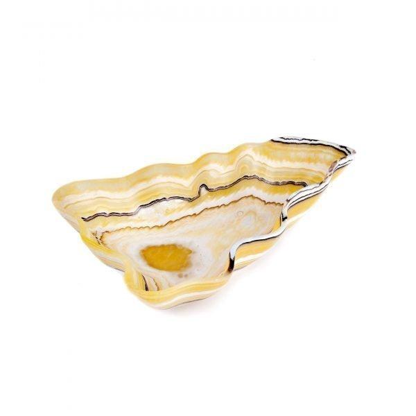 Tiger Stipe Onyx Bowl