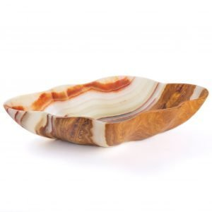 Brown & Green Onyx Bowl