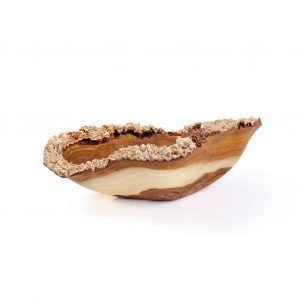 Brown and Green Rustic Onyx Bowl