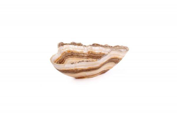 Natural Striped Onyx Bowl