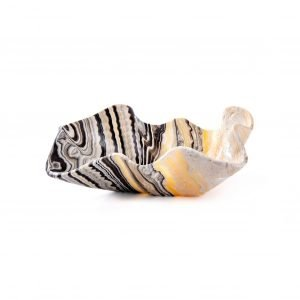 Tiger Stripe Clam Onyx Bowl
